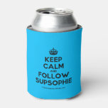 [Crown] keep calm and follow supsophie  Bottle/can coolers can cooler