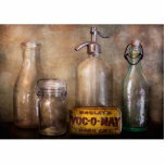 Bottle Collector - Container Collection Photo Sculpture