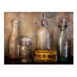Bottle Collector - Container Collection Post Card