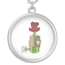 Bottle Cowboy Necklace