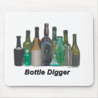 Bottle Digger Mouse Pad