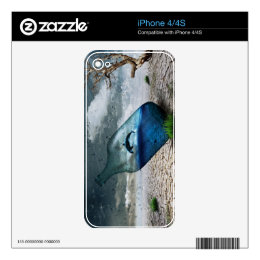 Bottle Dolphin in Dessert Skins For The iPhone 4S