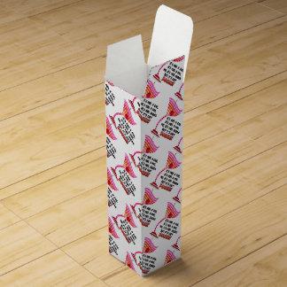 BOTTLE GIFT BOXES - BUT IT'S GOT BOOZE! WINE BOXES