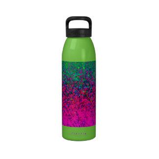 Bottle Glitter Dust Background Water Bottle