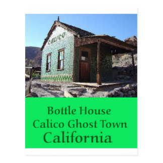 Bottle House Calico Postcard