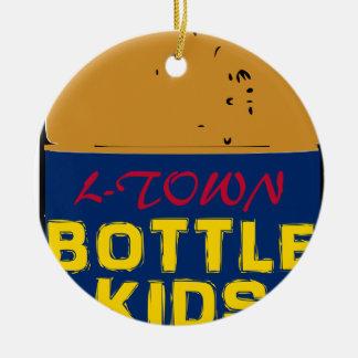 Bottle Kids 40 oz Ceramic Ornament