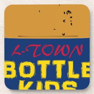 Bottle Kids 40 oz Drink Coaster