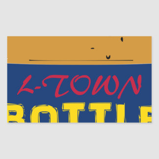 Bottle Kids 40 oz Rectangular Sticker