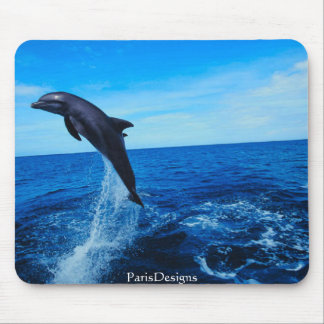 Bottle nose dolphin mouse pad