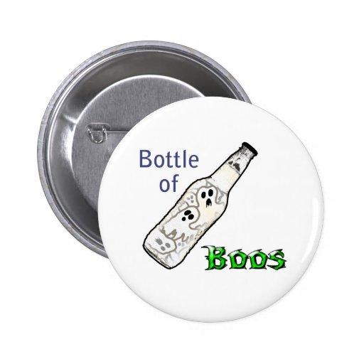 Bottle of Boos 2 Inch Round Button