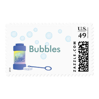 Bottle of Bubbles Stamp