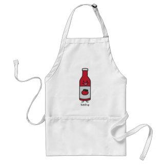 Bottle of Ketchup Apron