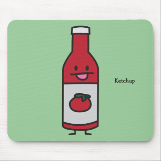 Bottle of Ketchup Mouse Pad