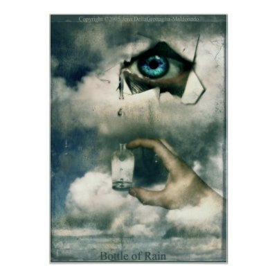 Favorite Surreal Posters - Bottle of Rain Posters