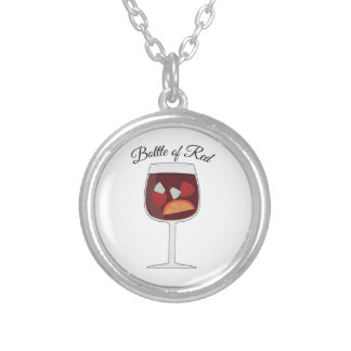 Bottle of Red Custom Necklace