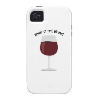 Bottle Of Red, Please! iPhone 4/4S Cases