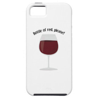 Bottle Of Red, Please! iPhone 5/5S Covers