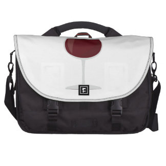 Bottle Of Red, Please! Commuter Bags