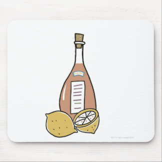 Bottle of Red Wine Mouse Pad
