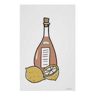 Bottle of Red Wine Posters