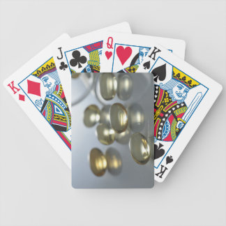 Bottle of Supplements Bicycle Playing Cards
