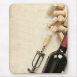 Bottle of Wine Mouse Pad