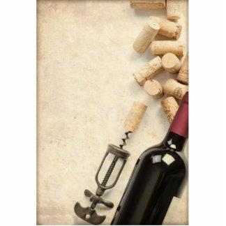 Bottle of Wine Photo Cutout
