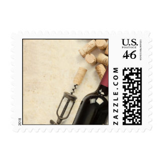 Bottle of Wine Stamps
