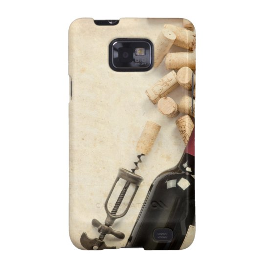Bottle of Wine Samsung Galaxy S2 Cover