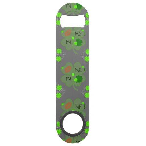 bottle opener st patrick 39 s day bar key zazzle. Black Bedroom Furniture Sets. Home Design Ideas