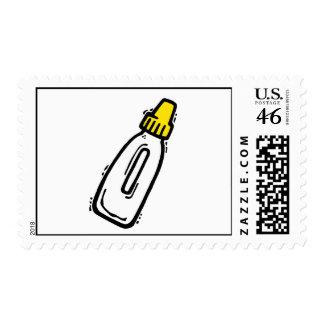 bottle postage stamps