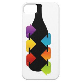 Bottle shaped design element iPhone SE/5/5s case