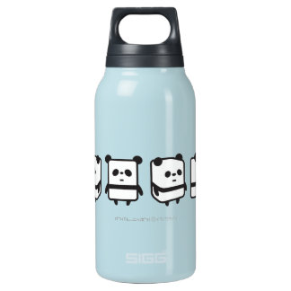 Bottle - Spinning Box Panda - MoreColorsAvailable 10 Oz Insulated SIGG Thermos Water Bottle