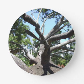 Bottle Tree Clock
