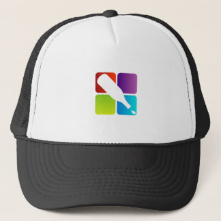 Bottle with colorful dots- Symbol for celebration Trucker Hat