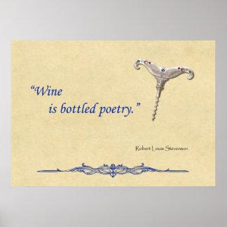 Bottled Poetry Print