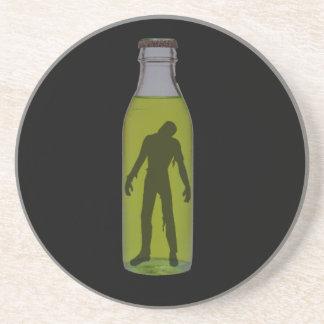 Bottled Zombie Beverage Coasters