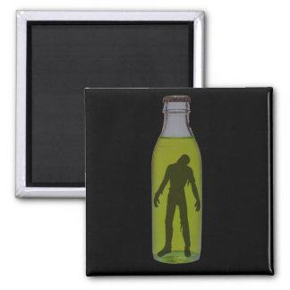 Bottled Zombie Refrigerator Magnet
