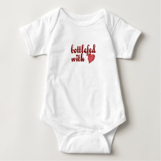 bottlefed w/ love infant creeper