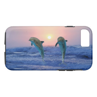 Bottlenose Dolphin at Sunrise iPhone 8/7 Case