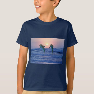 Bottlenose Dolphin at sunrise T-Shirt
