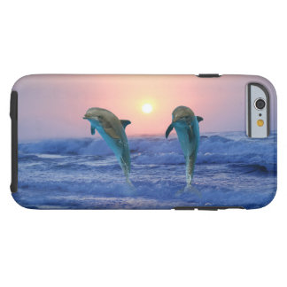 Bottlenose Dolphin at Sunrise Tough iPhone 6 Case