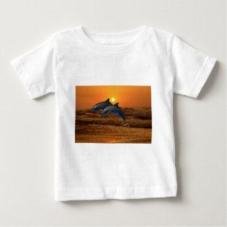 Bottlenose Dolphin at Sunset Baby T-Shirt