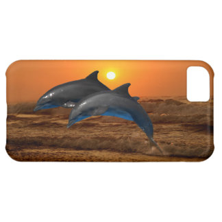 Bottlenose Dolphin at Sunset Case For iPhone 5C