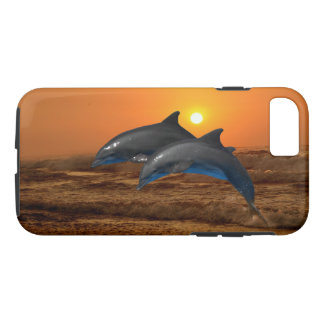 Bottlenose Dolphin at Sunset iPhone 8/7 Case