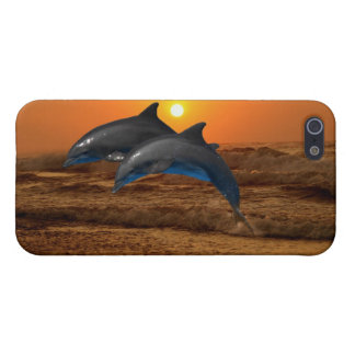 Bottlenose Dolphin at Sunset iPhone SE/5/5s Case