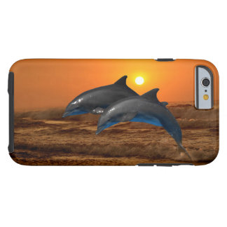 Bottlenose Dolphin at Sunset Tough iPhone 6 Case
