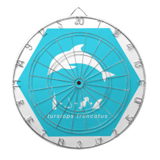 bottlenose dolphin blue hex.png dartboard