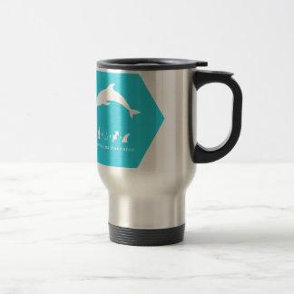 bottlenose dolphin blue hex.png travel mug