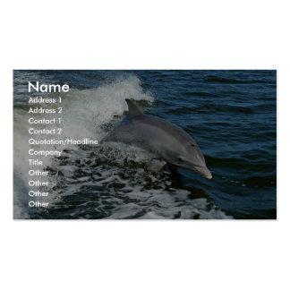 Bottlenose dolphin business cards